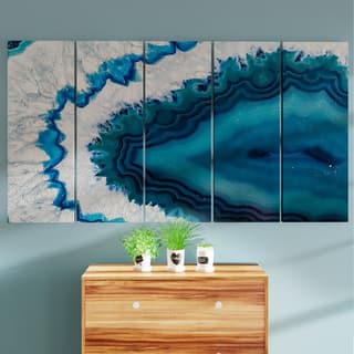 Designart 'Blue Brazilian Geode' Abstract Canvas Wall Art Print|https://ak1.ostkcdn.com/images/products/13285890/P19995749.jpg?impolicy=medium