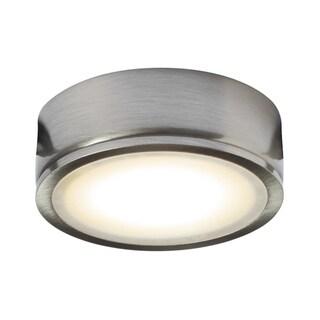 DALS Lighting 4.5W 120V LED Metal Finish Under Cabinet Puck Light