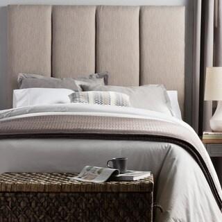 Humble + Haute Victoria Tall Textured Grey Upholstered Headboard