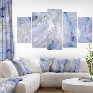 Link to Agate Stone Background' Abstract Canvas Wall Art Print Similar Items in Matching Sets