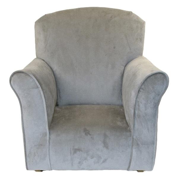 Shop Dozydotes Toddler S Dove Microfiber Rocking Chair