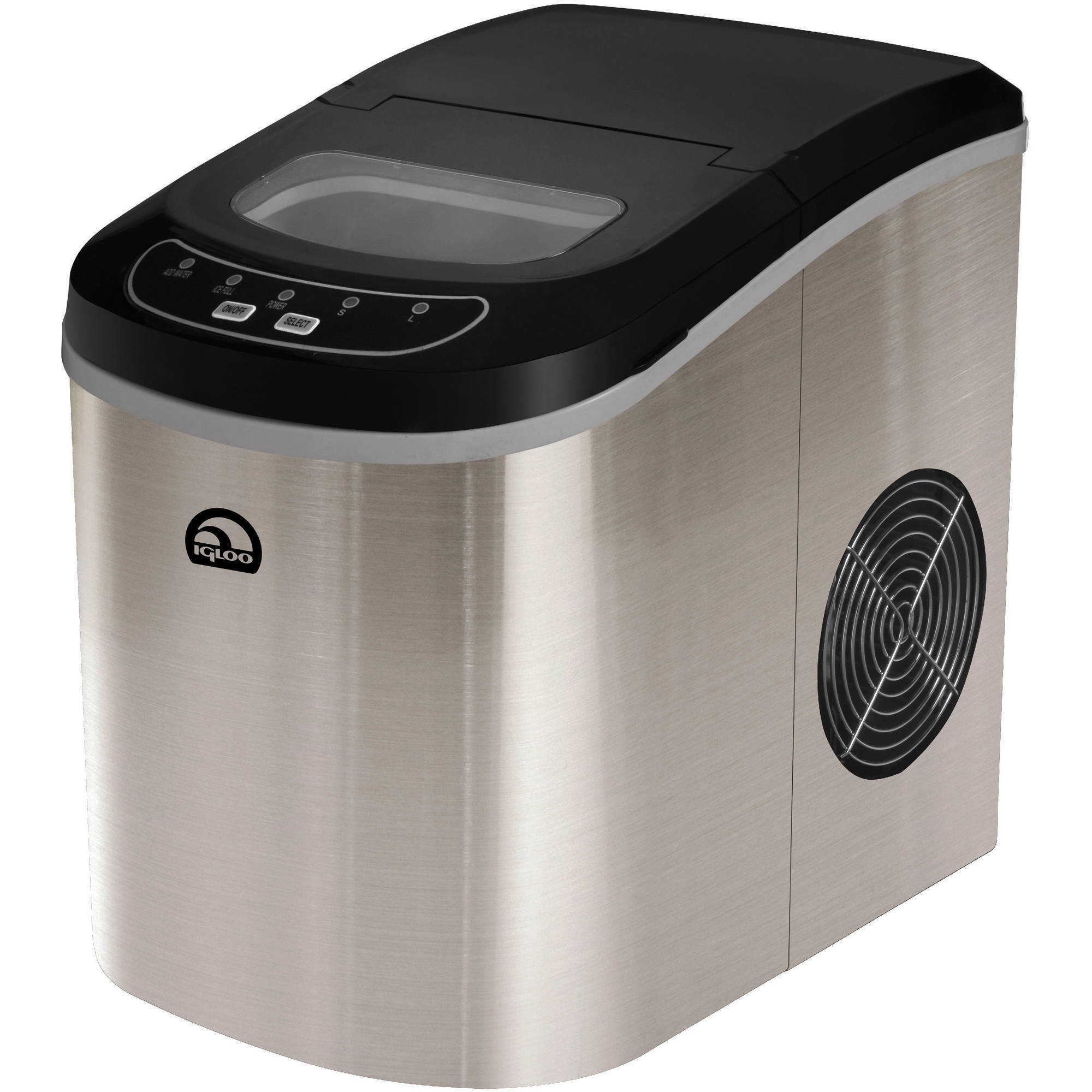 Igloo Stainless Steel Compact Ice Maker Overstock 13286591