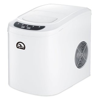 Igloo White Portable Countertop Ice Maker