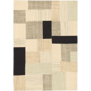 Ecarpetgallery Tribeca Grey Wool Kilim 4 0 X 6 0 Free