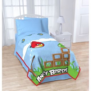 Angry Birds Twin-Size Blanket