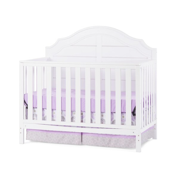 Shop Child Craft Penelope White Wood 4 In 1 Convertible