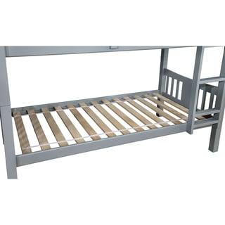 Furniture of America Pello Full over Full Slatted Bunk Bed