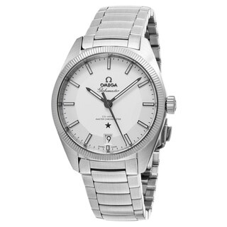 Omega Men's 130.30.39.21.02.001 'Constellation GlobeMaster' Silver Dial Stainless Steel Swiss Automatic Watch