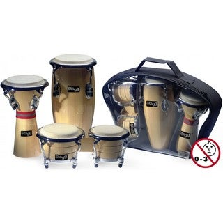 Stagg BCD-N-SET Mini Latin and African Percussion Set