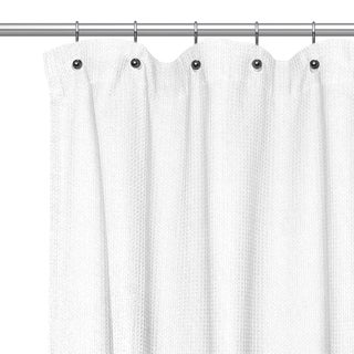 Curtains Ideas black cloth shower curtain : White, Cotton Shower Curtains - Overstock.com - Vibrant Fabric ...