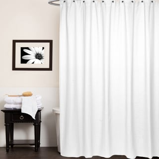 Chevron Cotton Shower Curtain (Assorted Colors)