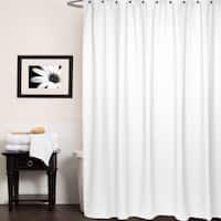 Chevron Cotton Shower Curtain (Assorted Colors)