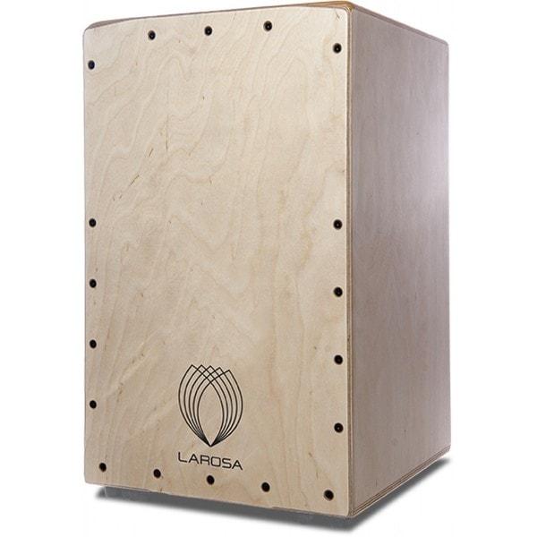 La Rosa Percussion Custom Professional Series Natural Wood Cajon