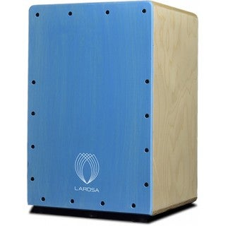 La Rosa Percussion Junior Blue Basic Series Kid's Cajon