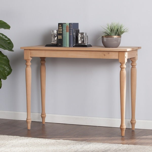 Harper Blvd Hepburn Unfinished Wood Console Table