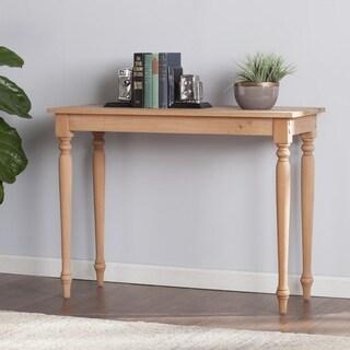 Harper Blvd Hepburn Unfinished Wood Console Table