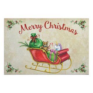 Christmas Sleigh Doormat