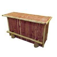 Red Cedar Log 6-Foot Bar - 6' x 6'