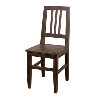 Hewn Carob Mission Dining Chair (India)