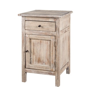 1-drawer Side Table with Flicked Dusk Finish