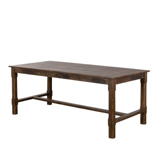 Rustic Mission Dining Table (India)