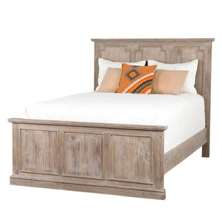Square Moulding Queen Bed