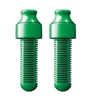 Bobble 2-Pack Replaceable Water Filter, Green