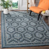 Safavieh Paseo Hand-Knotted Navy Wool Rug - 6' x 9'