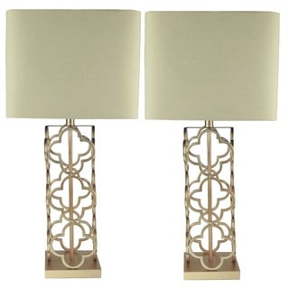 JT Lighting Karmin Table Lamps (Set of 2)