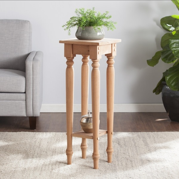 Harper Blvd Hepburn Unfinished Wood Accent Table