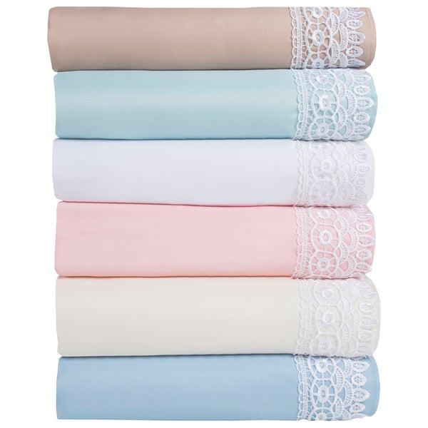 Elegant Lace Microfiber Sheet Sets