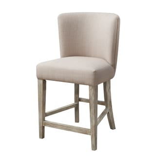 Emerald Synchrony Upholstered Seat and Back Barstool x2