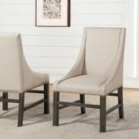Abbyson Marseilles City Grey Dining Chair