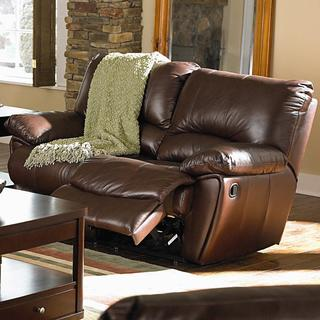 Coaster Company Home Furnishings Casual Motion Love seat (Dark Brown)
