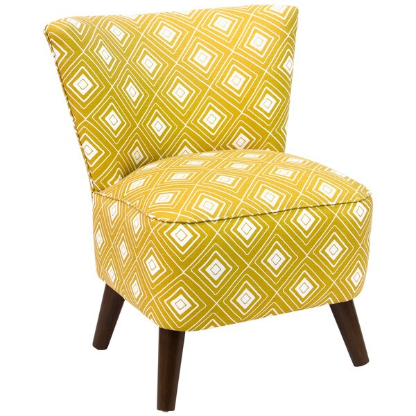 Shop Skyline Furniture Yellow Slipper Accent Chair On