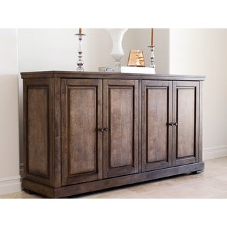ABBYSON LIVING Cypress Oak-finish Rubberwood Dining Buffet