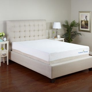 PostureLoft Kiera 11-inch Queen-size Talalay Latex Memory Foam Mattress