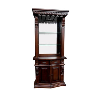 D-Art Sheraton Wine Cabinet in Mahogany Wood (Indonesia)