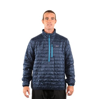 Patagonia Men's Navy Blue Nano Puff Pullover
