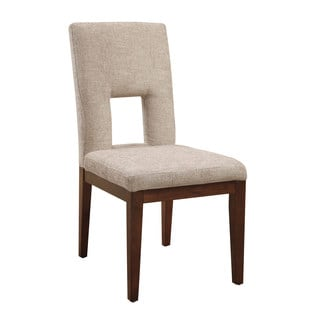 Emerald Studio Mid-Century Modern Upholstered Dining Chair -set of 2