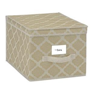 Closetcandie Large Storage Box in Jasmine Gold