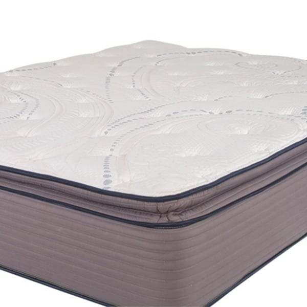 nuform affinity 13inch kingsize pocketed coil gel pillowtop mattress free shipping today - King Size Pillow Top Mattress