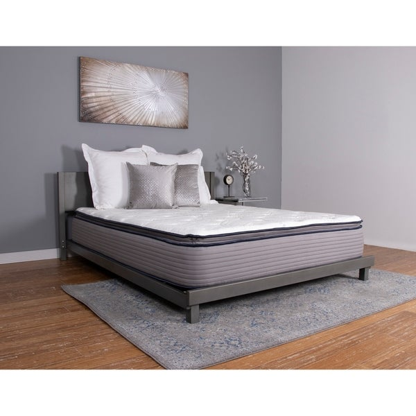 shop nuform affinity 13 inch twin xl size pocketed coil gel pillow top mattress on sale free. Black Bedroom Furniture Sets. Home Design Ideas