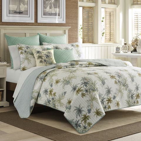 Tommy Bahama Serenity Palms Reversible Quilt