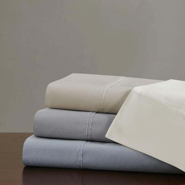Madison Park Signature 750 Thread Count Luxury Pima Cotton Sateen Sheet Set