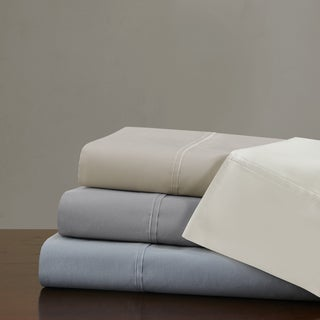 Madison Park Signature 750 Thread Count Luxury Pima Cotton Sateen Sheet Set