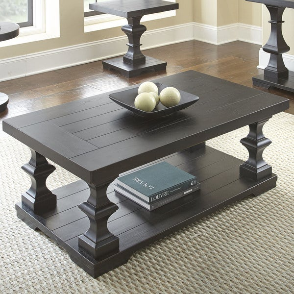 "Greyson Living Dakota Coffee Table - 19""H x 48""W x 28""D. Opens flyout."