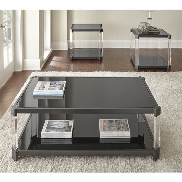Shop Naslini Coffee Table With Acrylic Legs By Greyson Living On