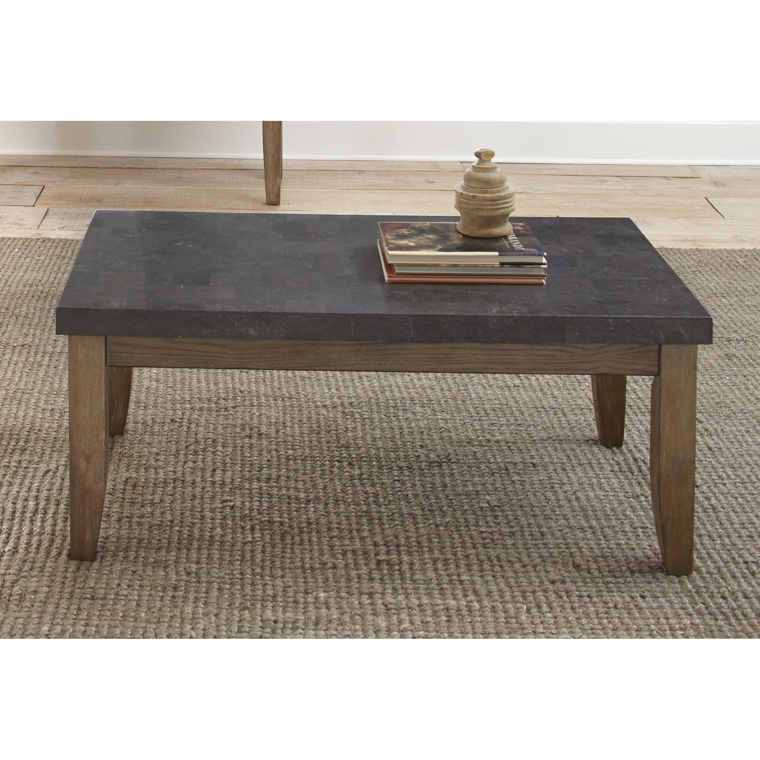 Danni Coffee Table With Stone Top By Greyson Living