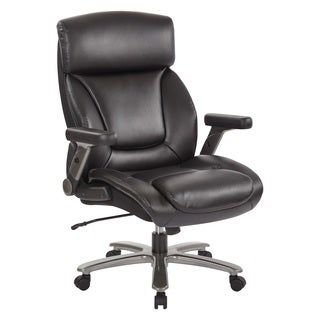 INSPIRED by Bassett Bonded Leather Executive Chair